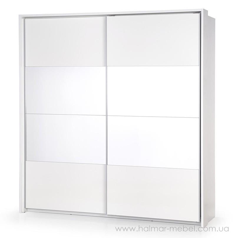 Шкаф-купе DREAM SP-2 HALMAR (белый с зеркалами)