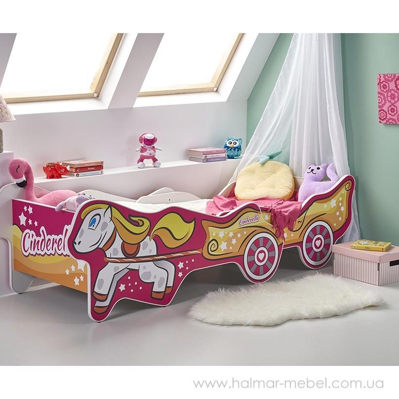 Кровать детская CINDERELLA HALMAR