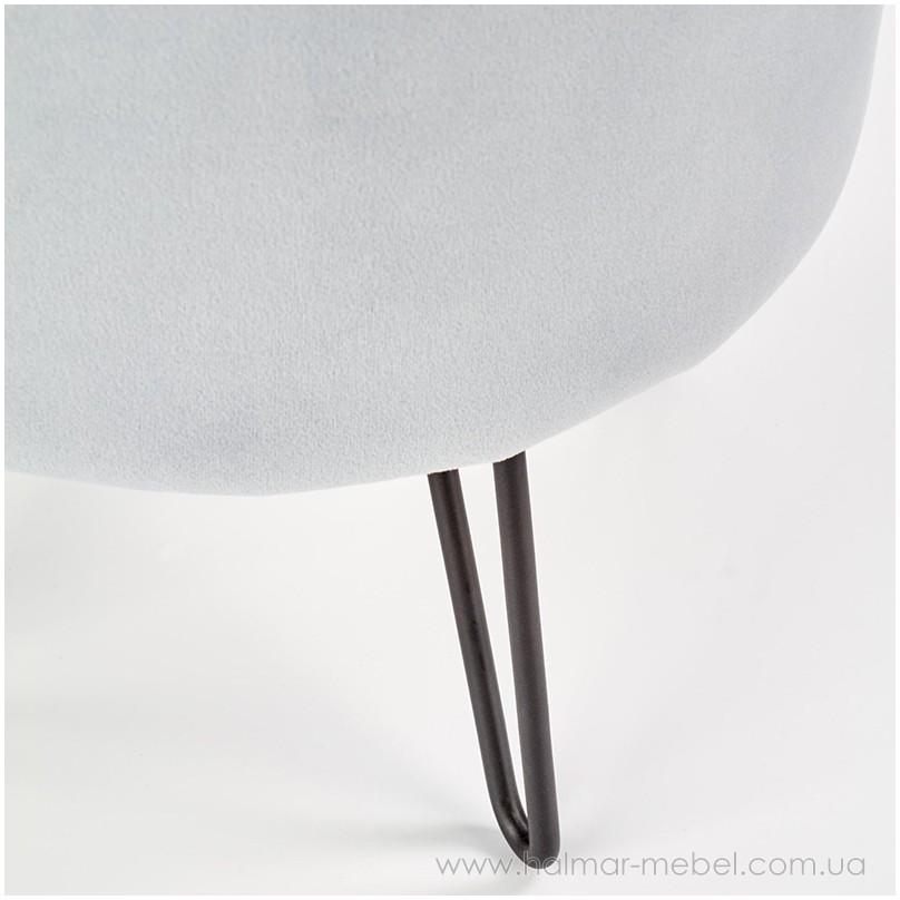 Пуф KHEOPS HALMAR (светло-серый)