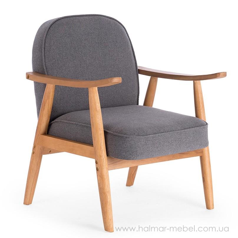 Кресло RETRO HALMAR (серый)