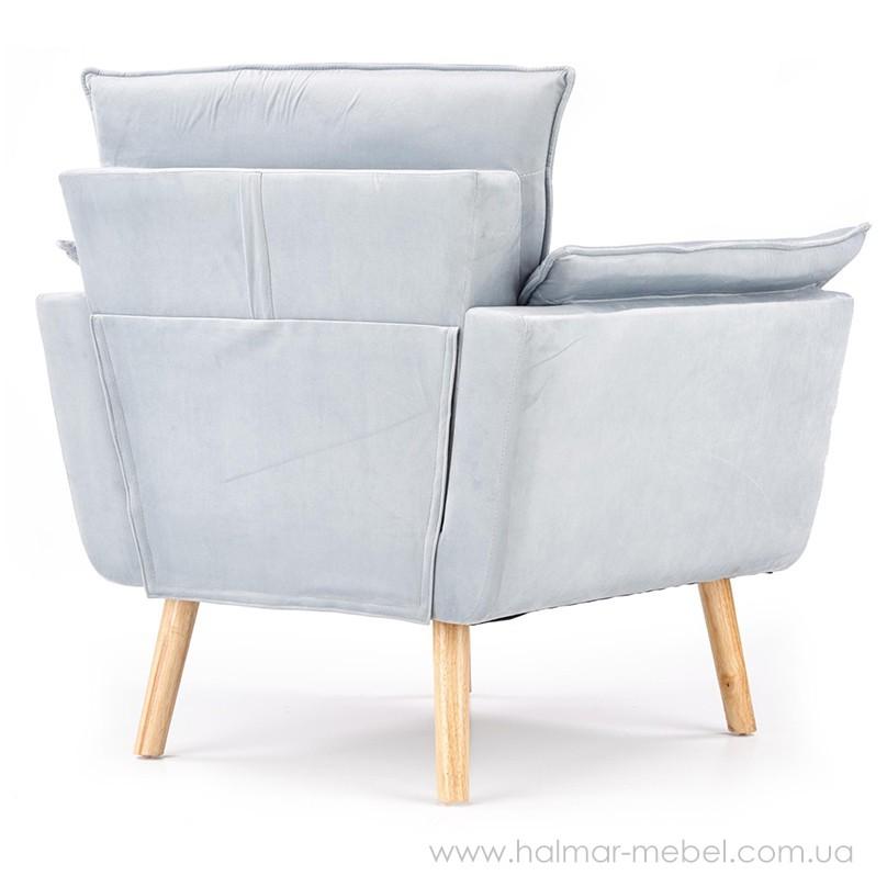 Кресло REZZO HALMAR (светло-серый)