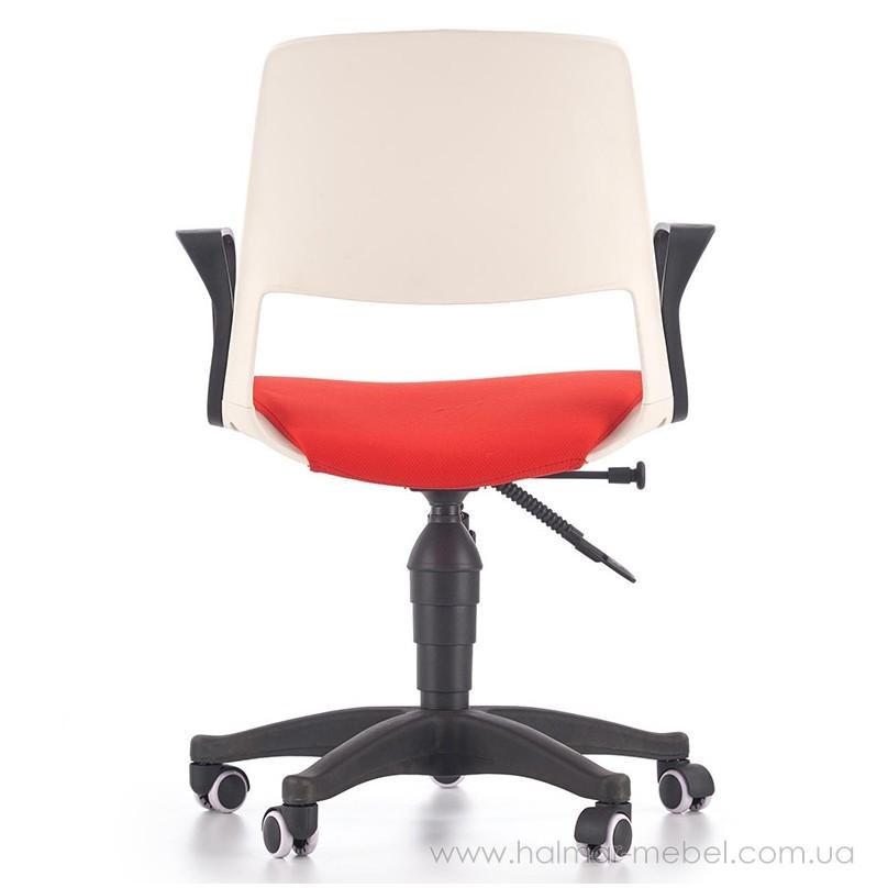 Кресло детское JUMBO HALMAR (белый/красный)