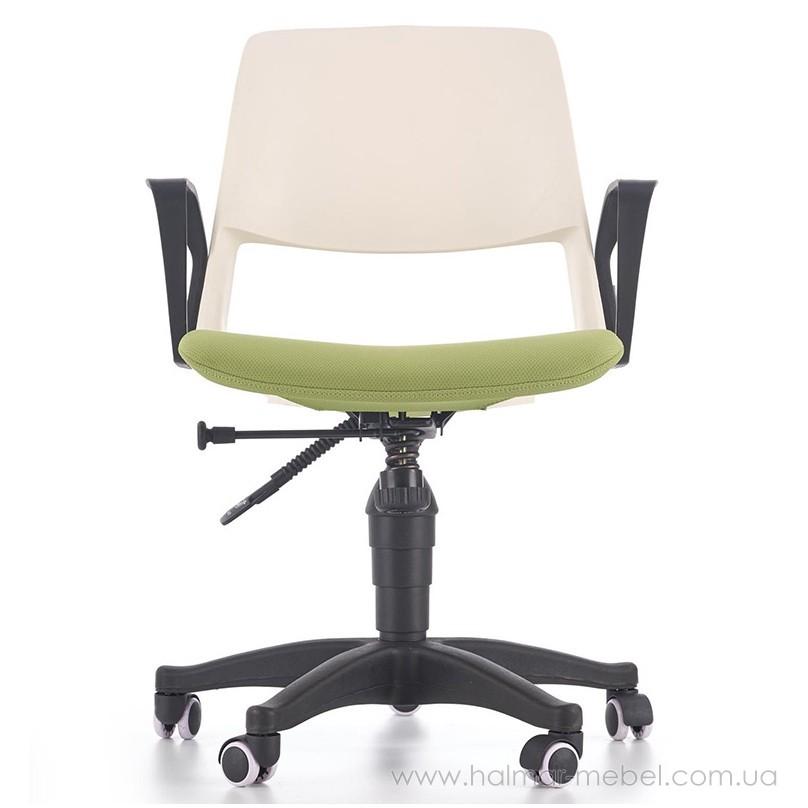 Кресло детское JUMBO HALMAR (белый/зеленый)