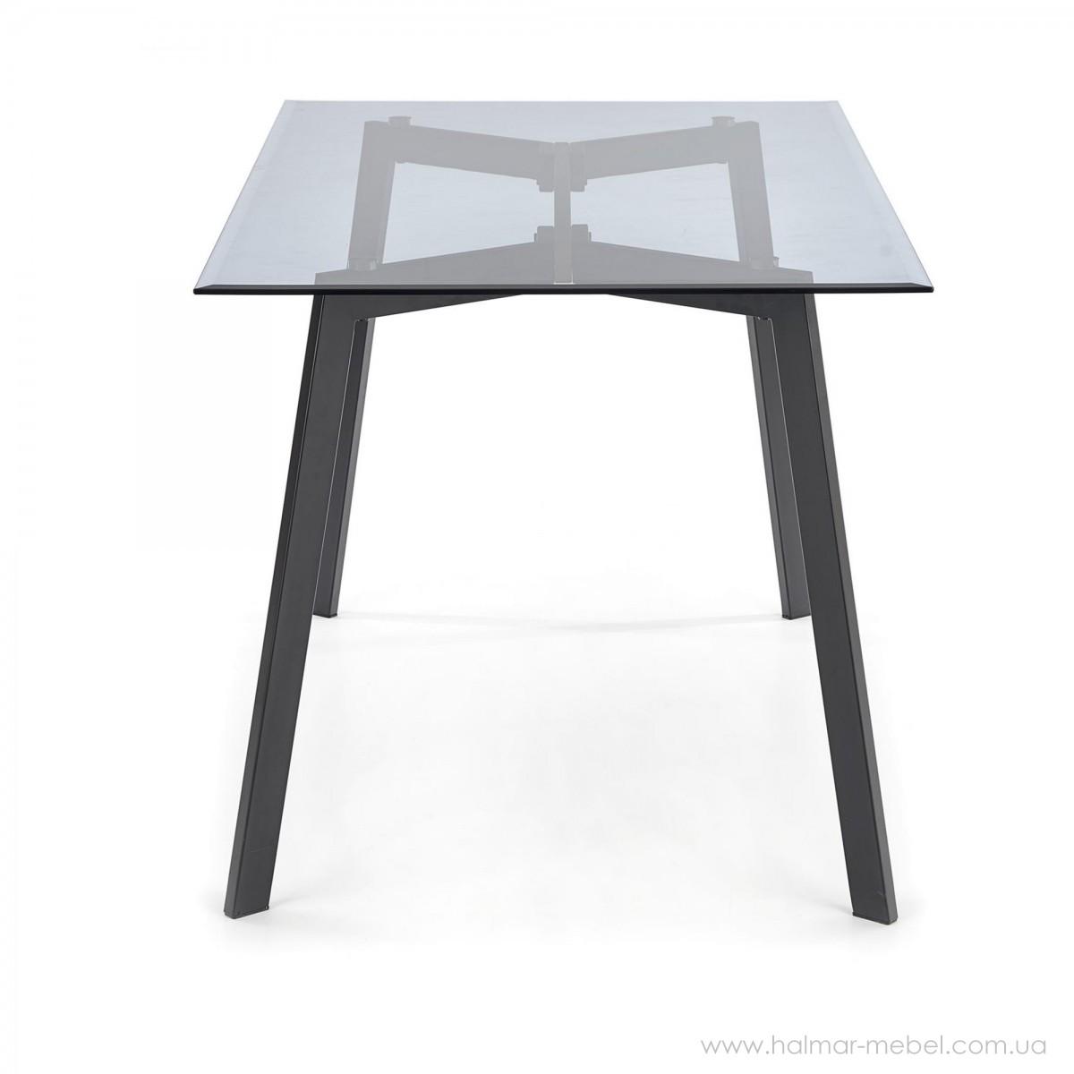 Стол стеклянный TRAX HALMAR