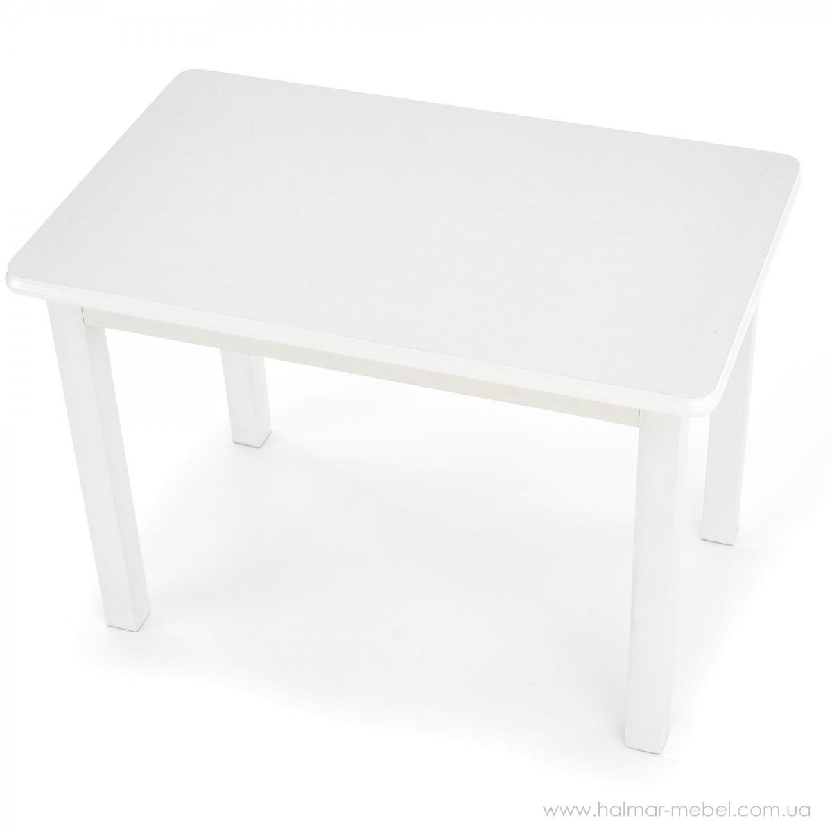 Стол обеденный DINNER 120/158 HALMAR белый