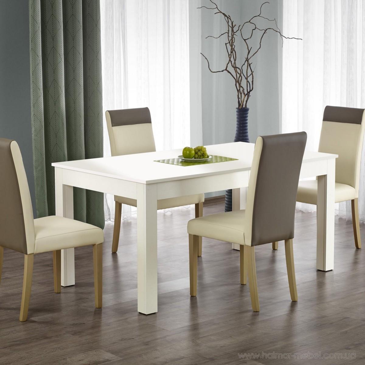 Стол обеденный SEWERYN HALMAR (белый)