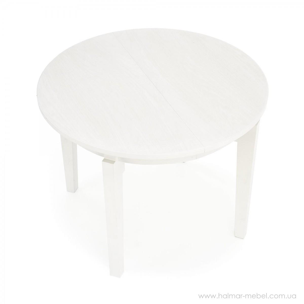 Стол раскладной SORBUS HALMAR белый