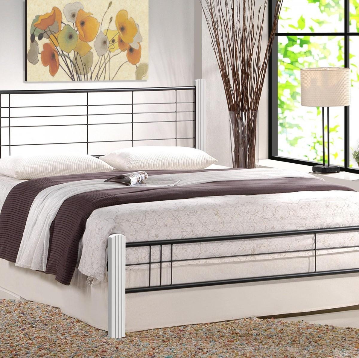Кровать VIERA HALMAR 160 (белый)