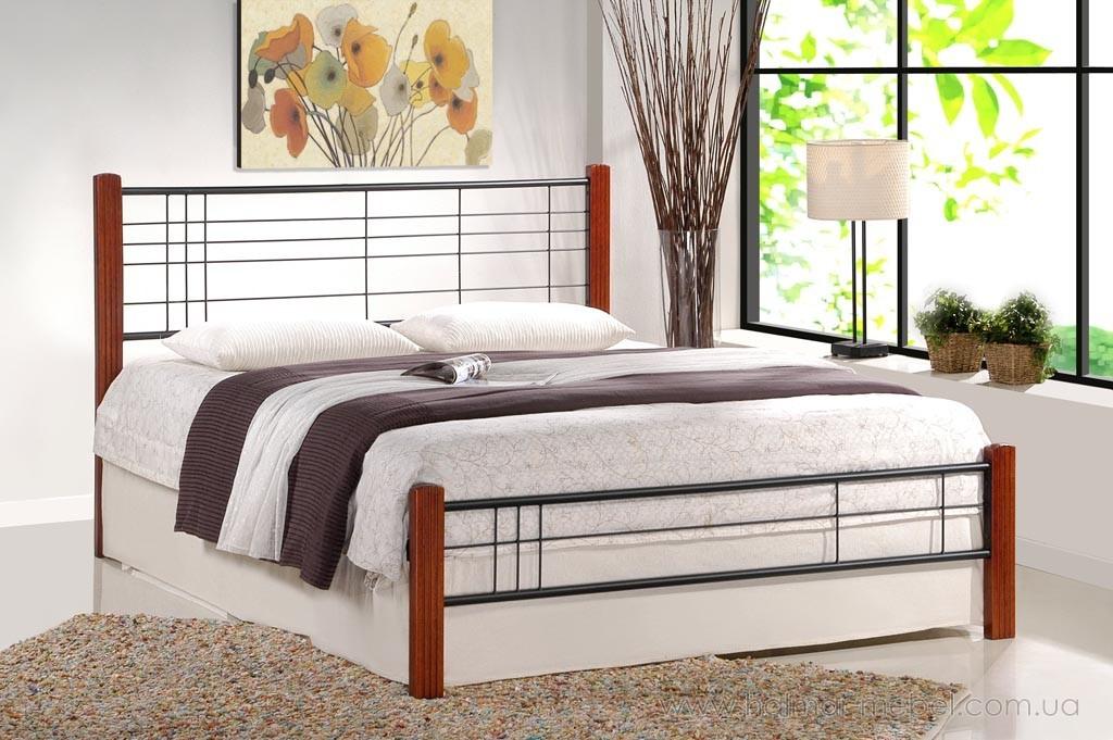 Кровать VIERA HALMAR 120 (античная черешня)