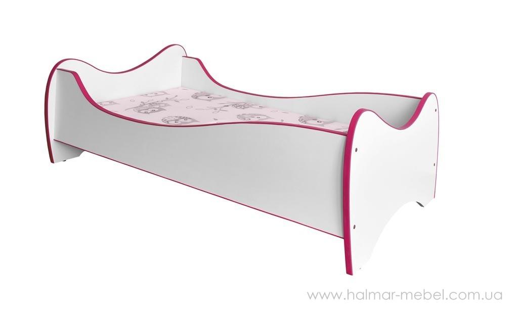 Кровать детская DUO HALMAR розовый