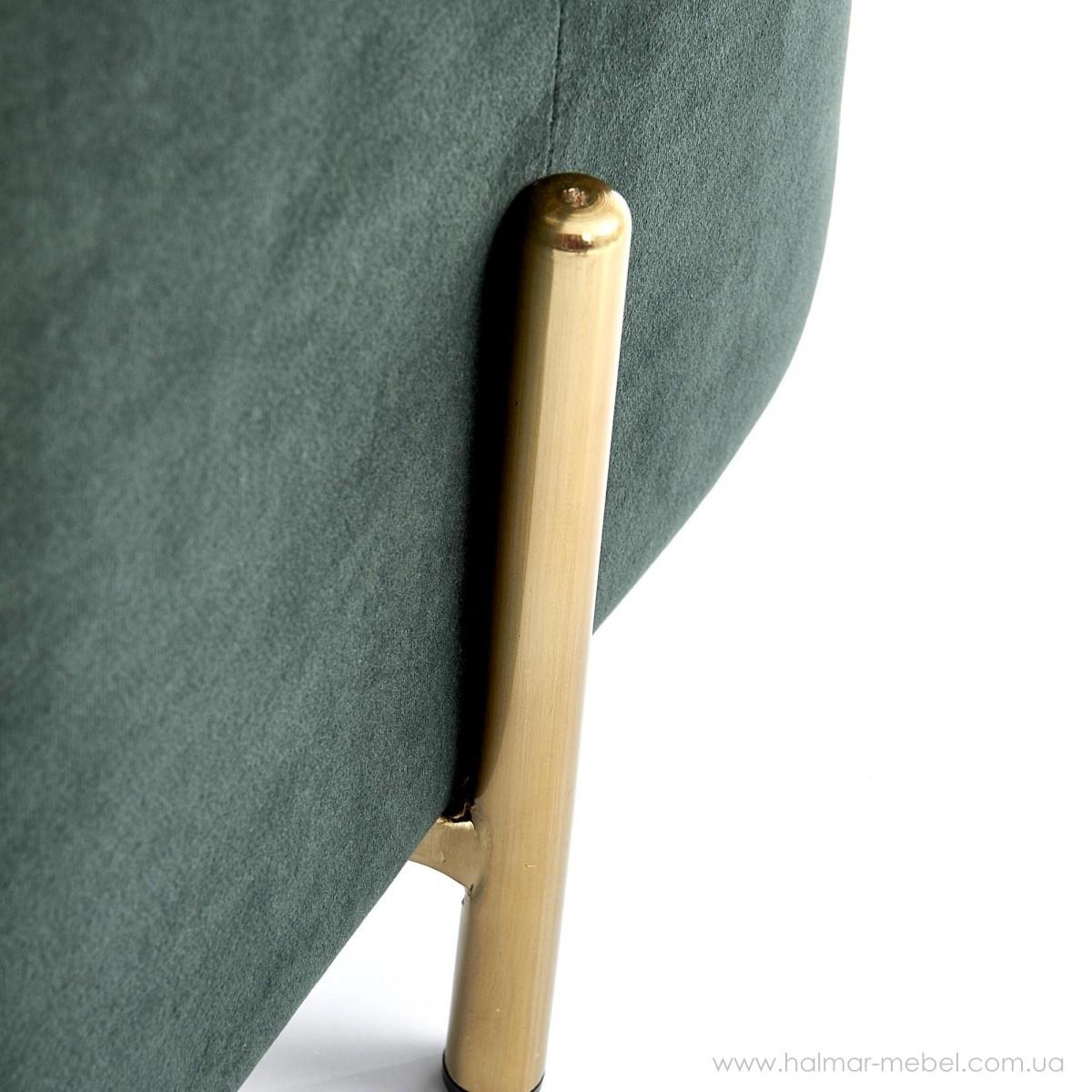 Пуф CORNO HALMAR (темно-зеленый)