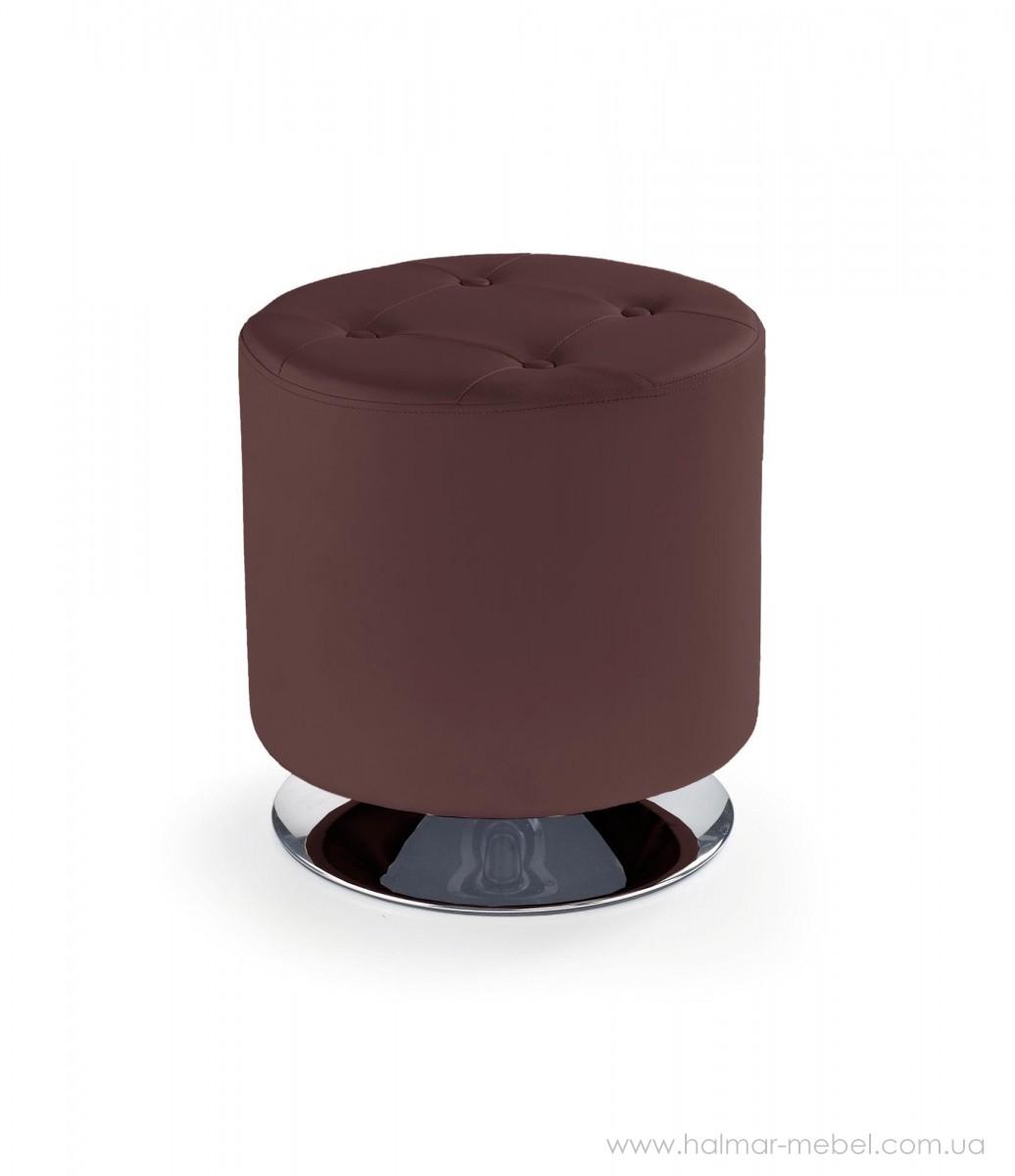 Пуф DORA HALMAR (темно-коричневый)