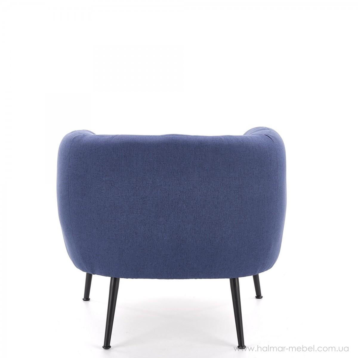 Стул LUSSO HALMAR (темно синий)