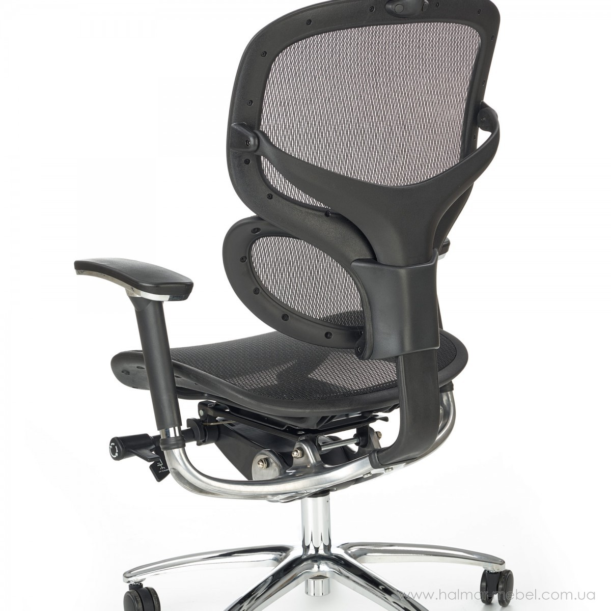 Кресло офисное PRESIDENT HALMAR (черный)