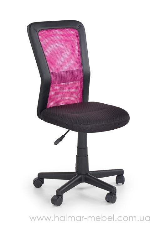 Кресло офисное COSMO HALMAR (черно-розовый)