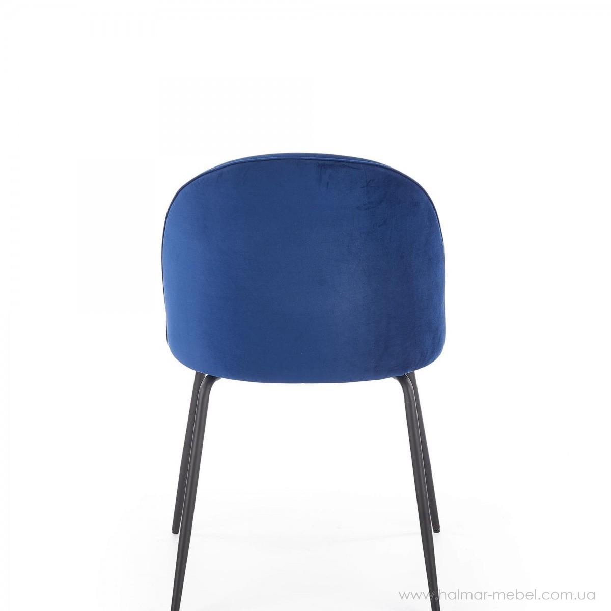 Стул K314 HALMAR (темно-синий)