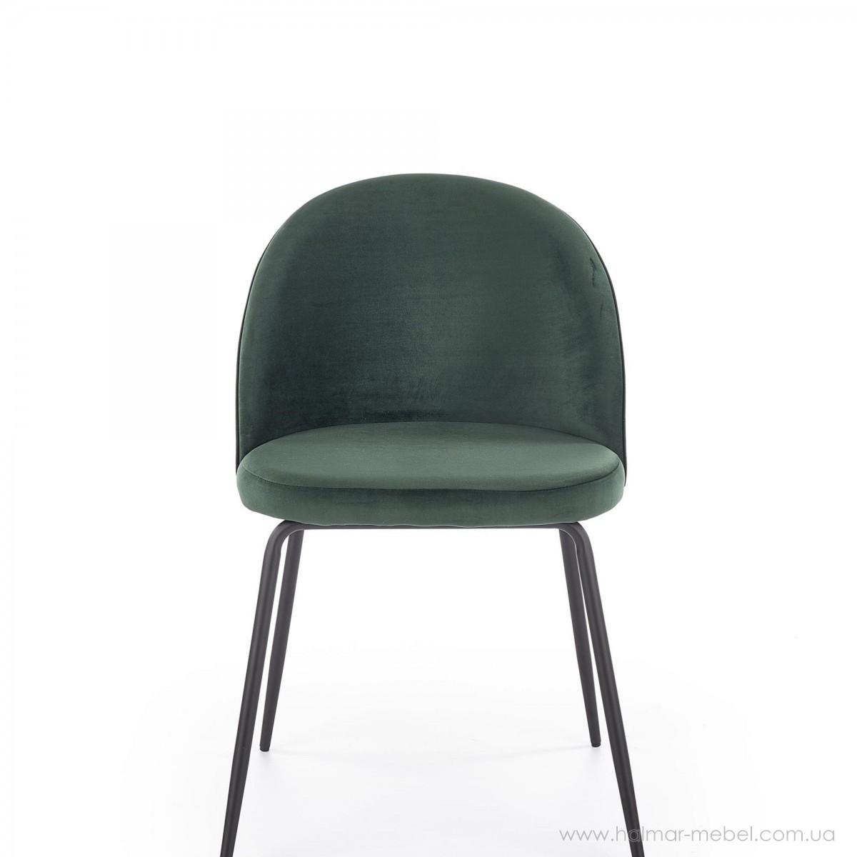 Стул K314 HALMAR (темно-зеленый)