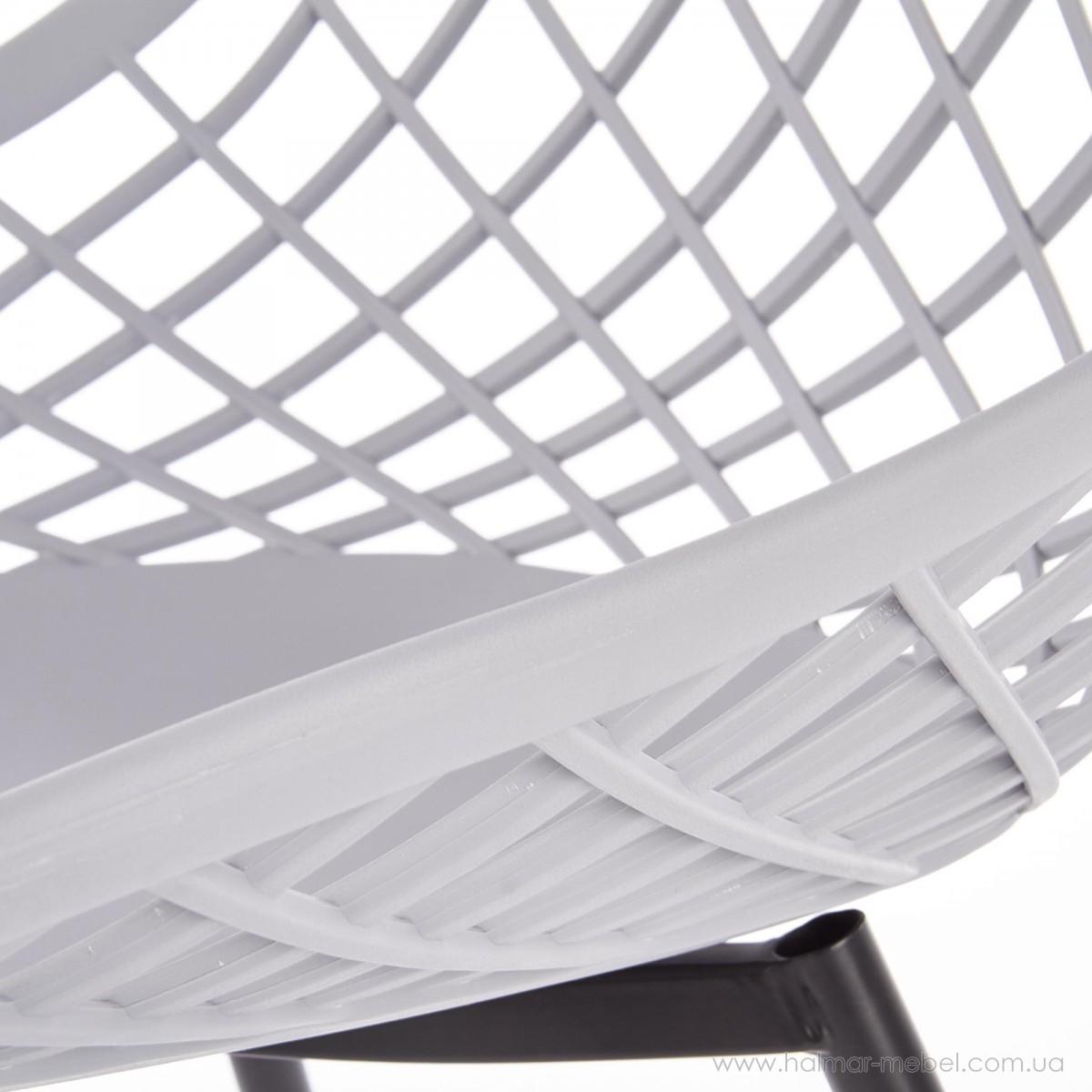 Стул K330 HALMAR (светло-серый)