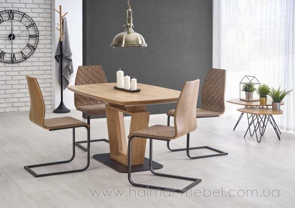 Стол обеденный раскладной BLACKY 2 Halmar