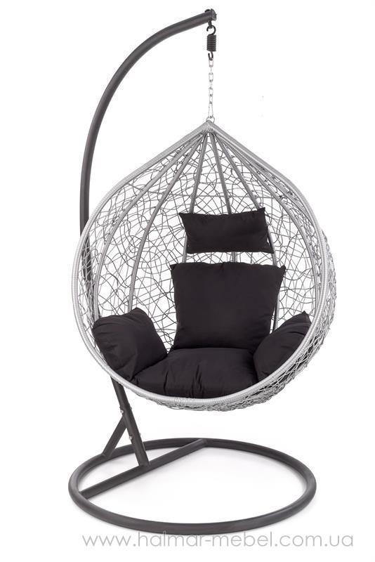 Кресло подвесное садовое кокон EGGY HALMAR