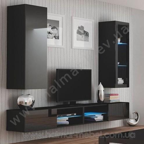 Гостиная 1 LIVO HALMAR (черный)