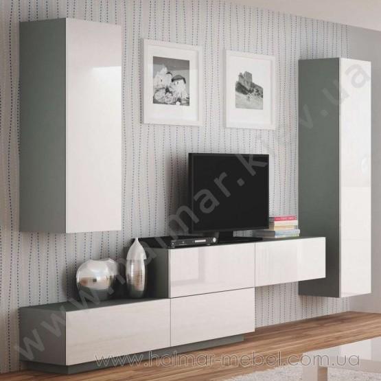 Гостиная 3 LIVO HALMAR (серый)