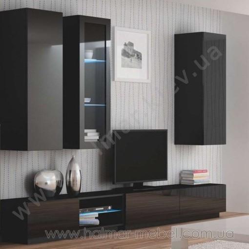 Гостиная 4 LIVO HALMAR (черный)