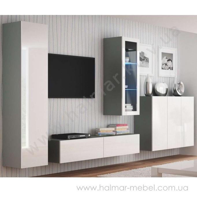 Гостиная 5 LIVO HALMAR (серый)