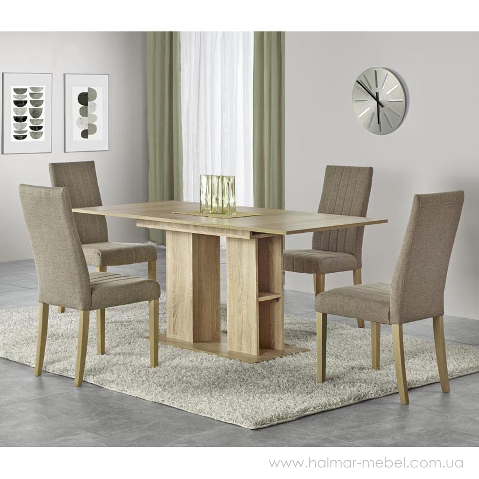 Стол обеденный KORNEL HALMAR (дуб сонома)