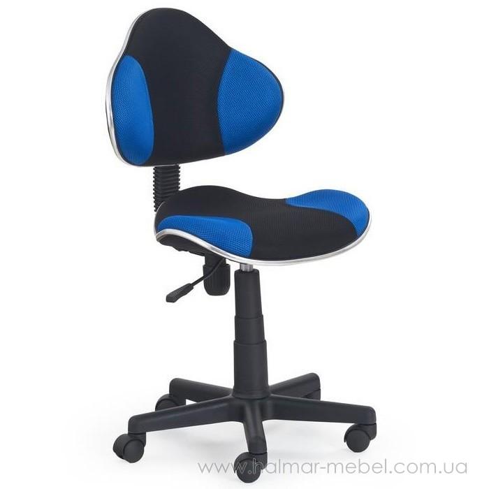 Кресло детское FLASH HALMAR (синий)