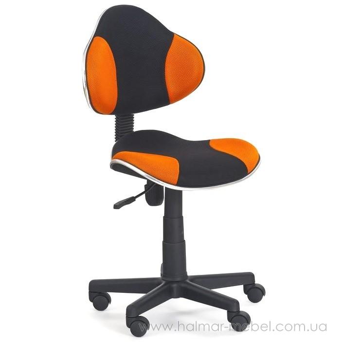 Кресло детское FLASH HALMAR (оранжевый)