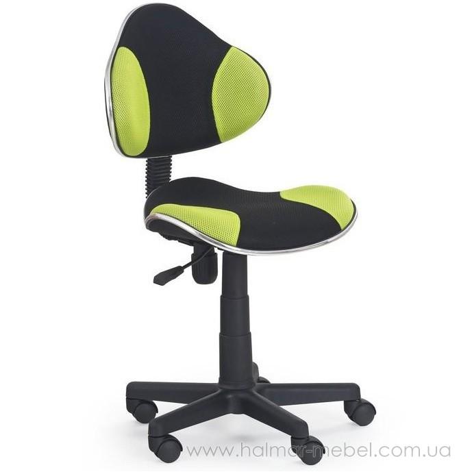 Кресло детское FLASH HALMAR (зеленый)