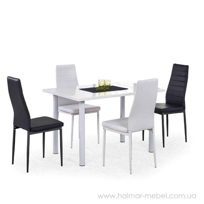 Комплект обеденный HALMAR ADONIS и стулья K-70