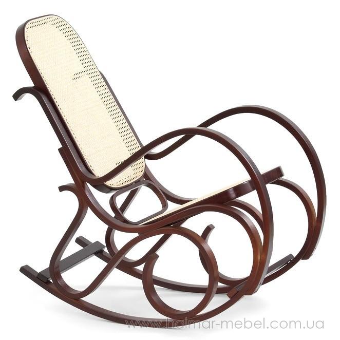 Кресло-качалка MAX BIS HALMAR (орех)