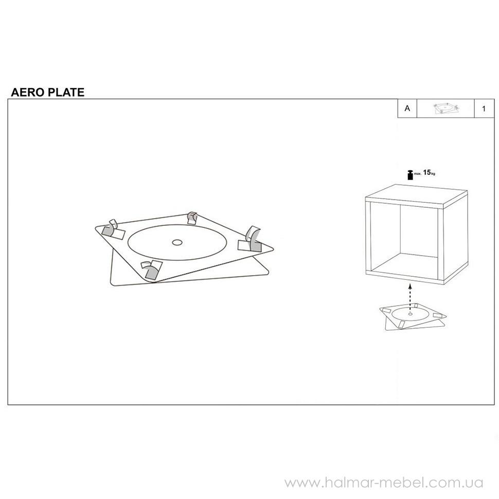 Коннектор AERO PLATE HALMAR