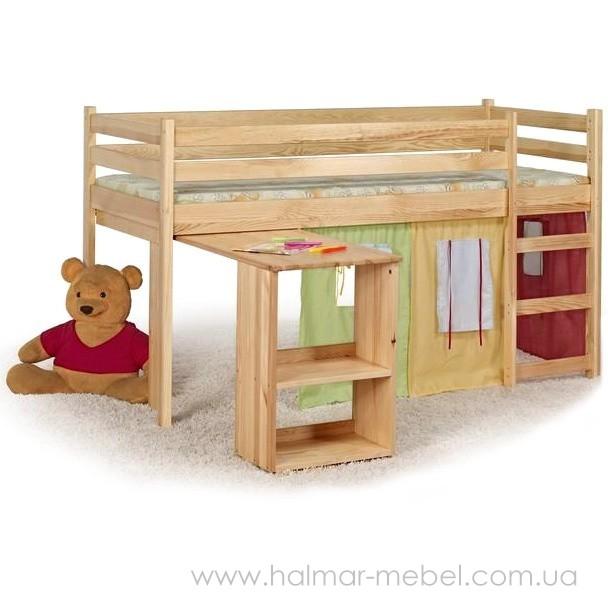 Кровать двухъярусная EMI HALMAR (ольха)