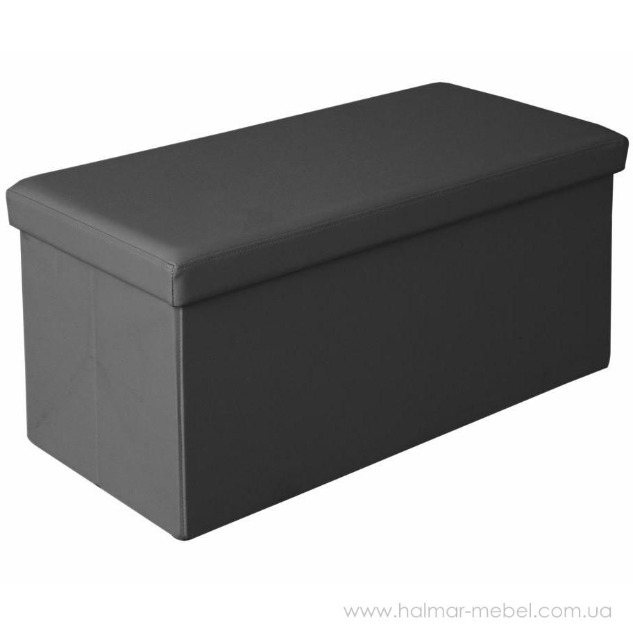 Пуф MOLY XL HALMAR (черный)