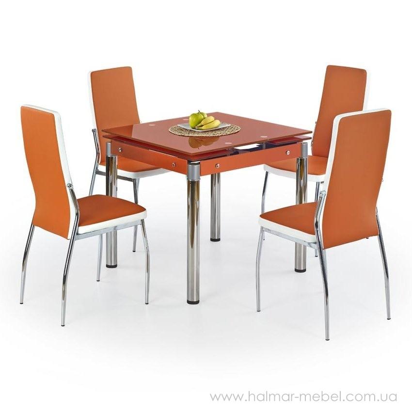 Стол обеденный KENT HALMAR (оранжевый)