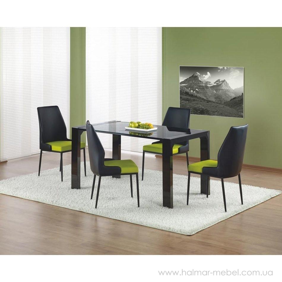 Стол обеденный KEVIN HALMAR (черный)