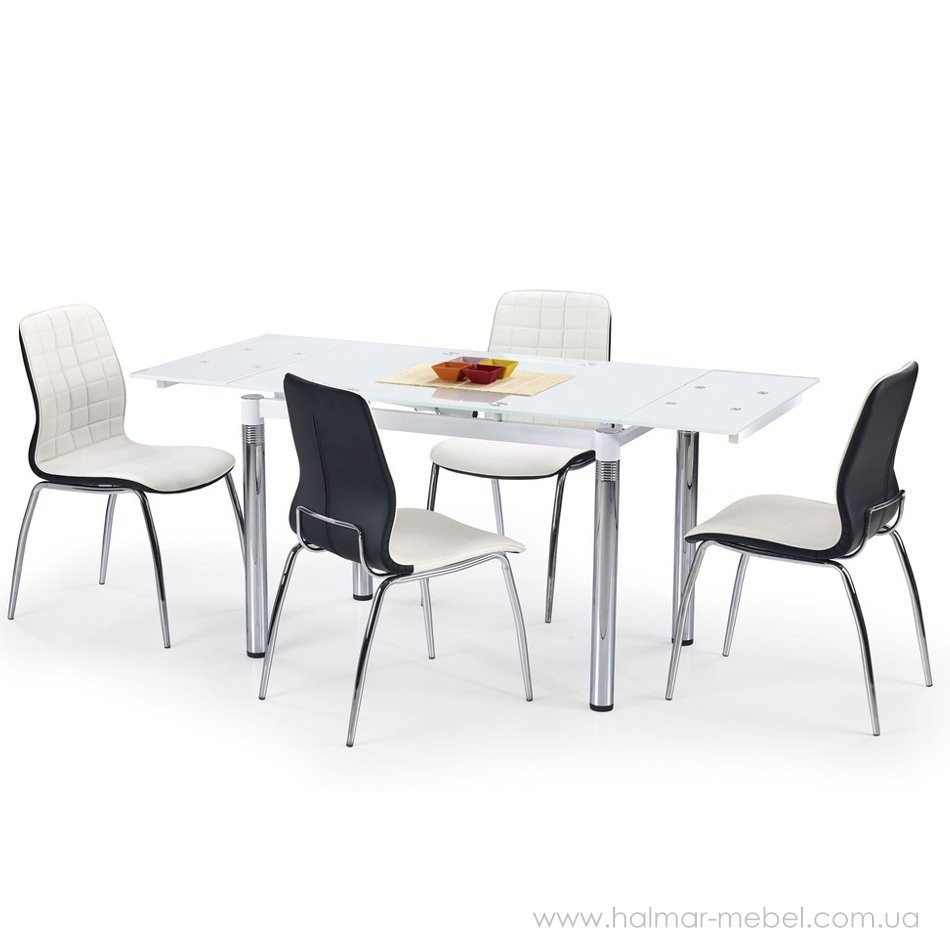 Стол обеденный L31 HALMAR (белый)