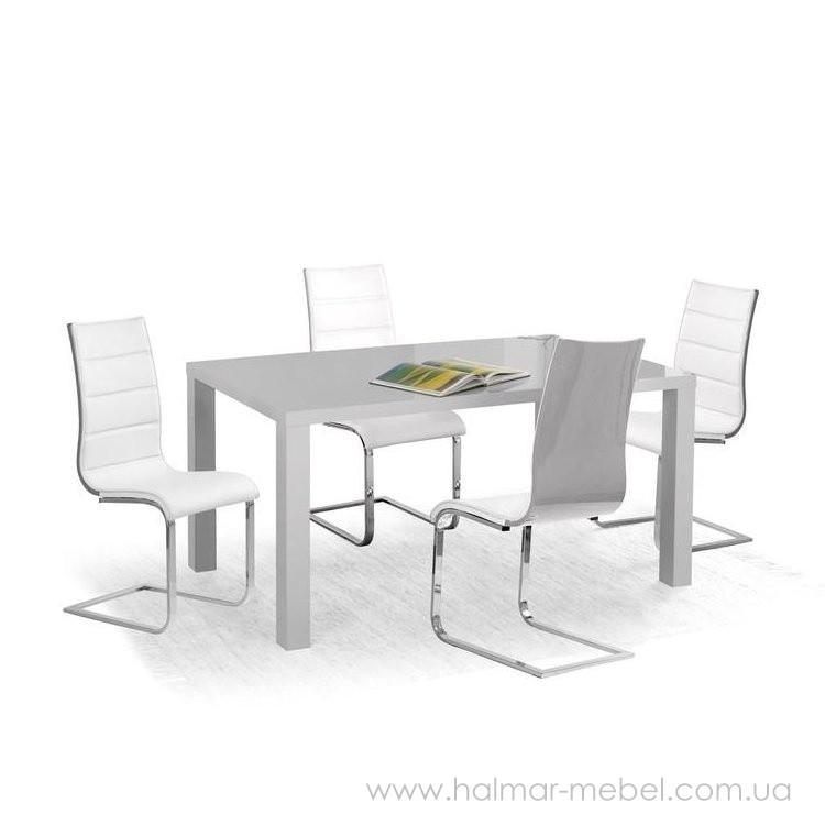 Стол обеденный RONALD 120/80 HALMAR (пепельный)